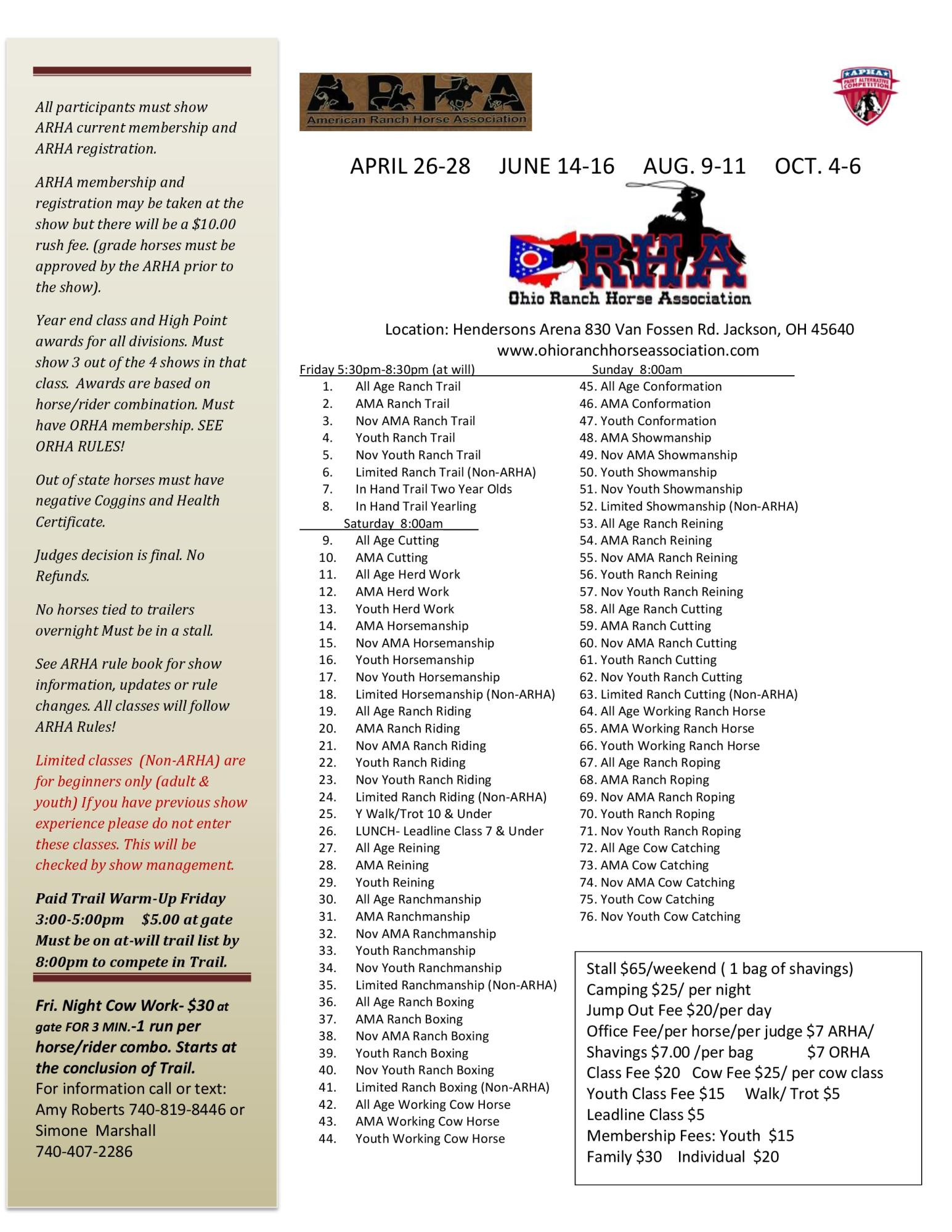 All Limited Exhibitors Will Be Verified By Show Management You May In For 2 Calendar Years Then Are Required To Move Up